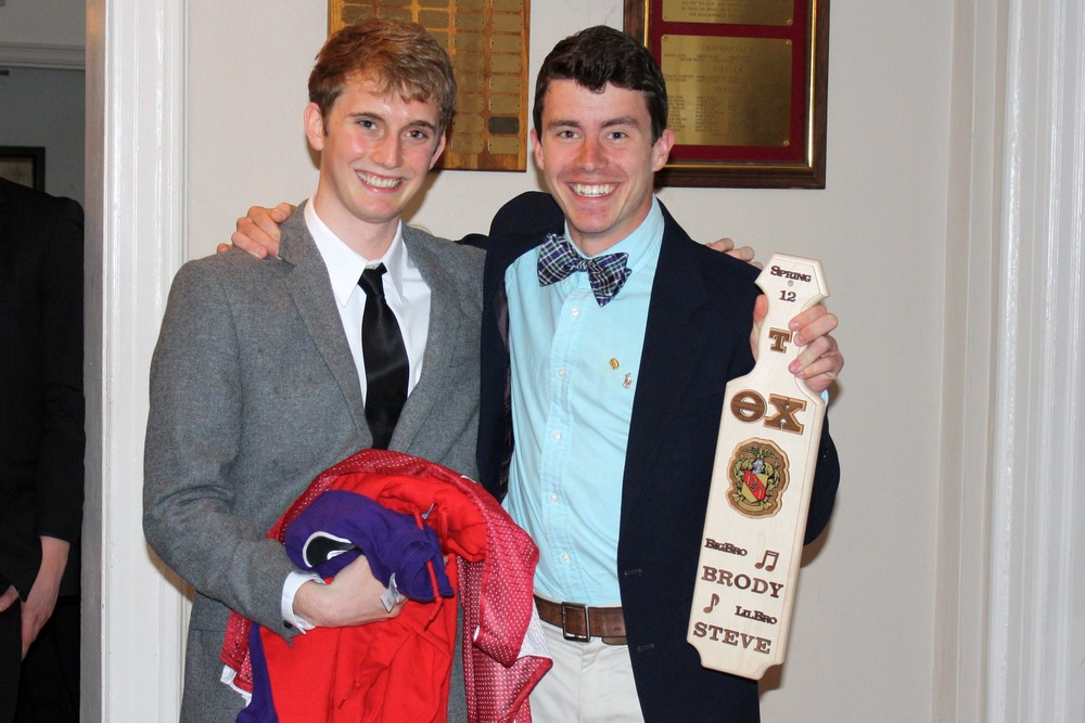 Little Brother Steve Johnson (L) and Big Brother Brody Karn