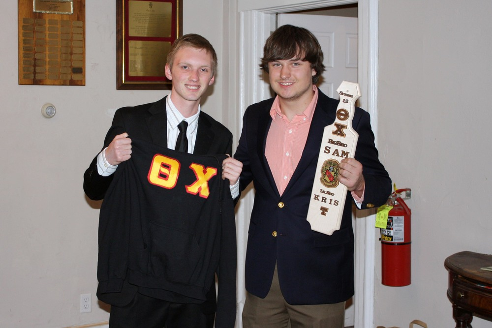 Little Brother Kris Canner (L) and Big Brother Sam Shively