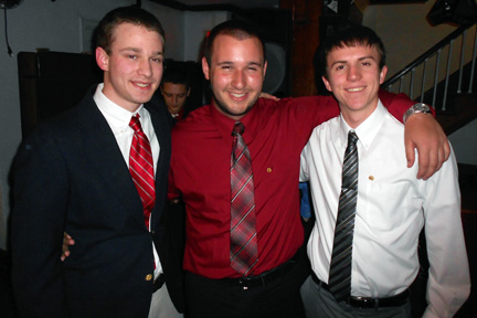 L to R: Bobby Aichelle, Ed Wallace, Mark MosbeyBig Little Brother Night