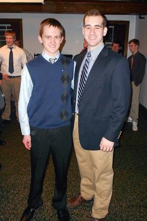 L to R: Sean McCrea, Michael SchappeBig Little Brother Night