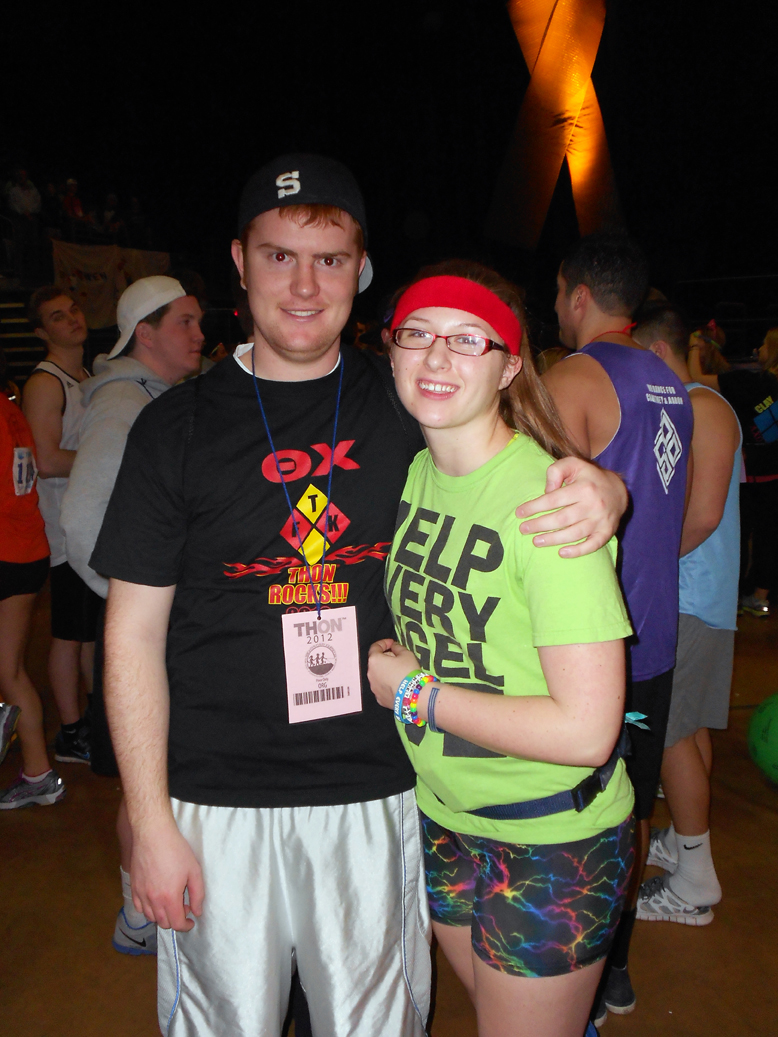 Troy Slack and Phoebe Nelson