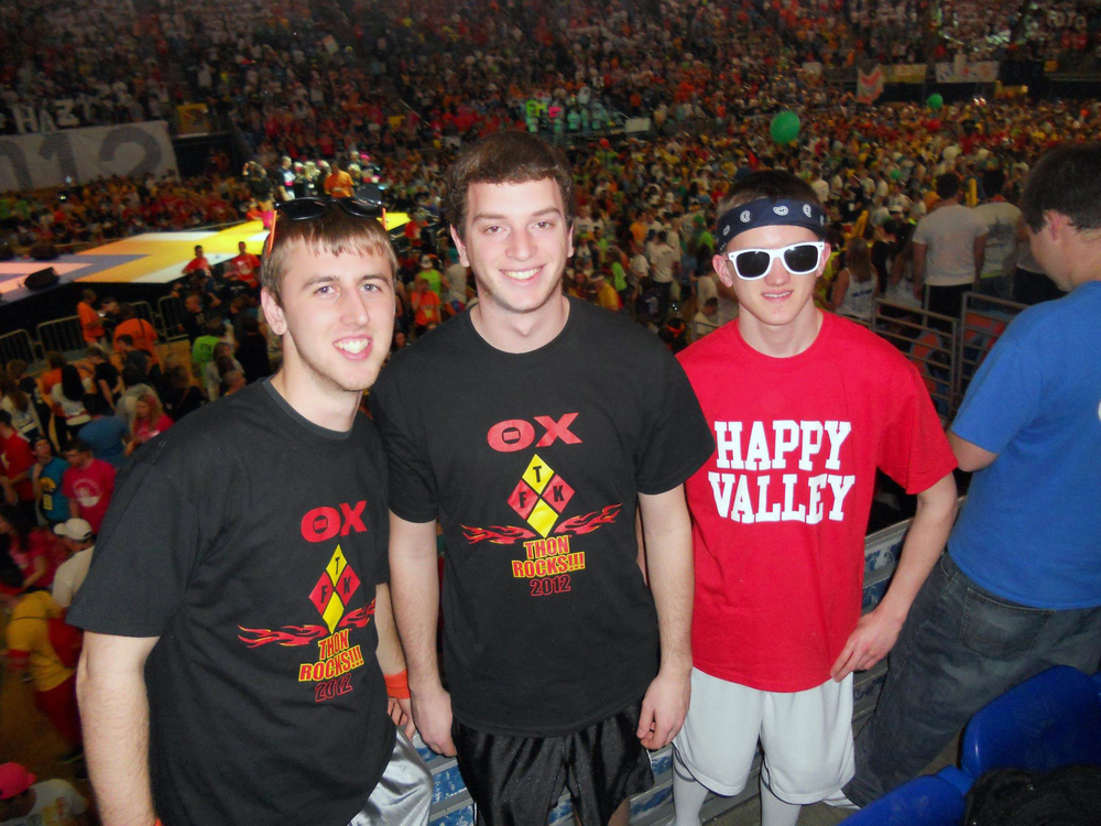 L to R: David Stoltzfus, Kyle Sussman and Sean McCrea