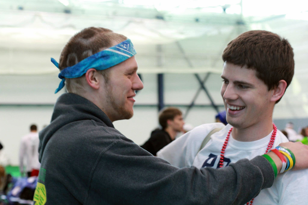Greg Smith (L) and Mitch Hulderman
