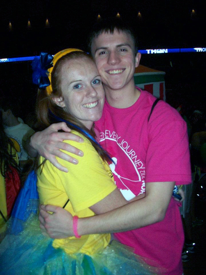 Emily Moore and Mark Moseley