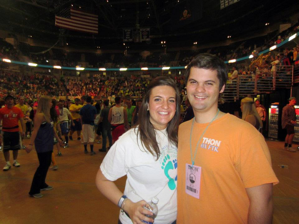 Caitlin Rush and Joseph Kampman
