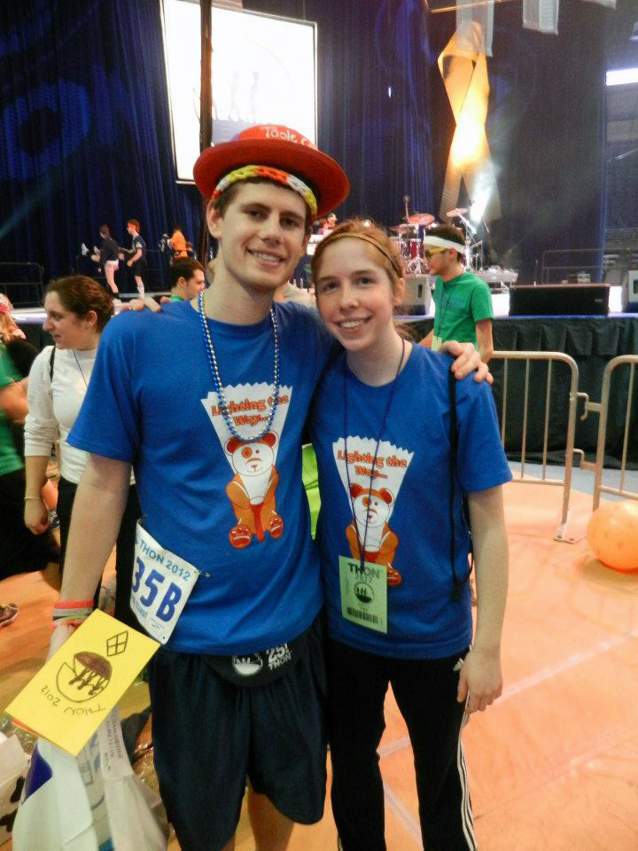 Mitch Thomas and Allison Harford