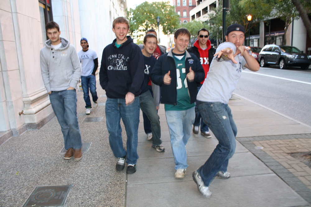 L to R: Sebastian Reigber, Eric Cushing, Nate Wysocki, Jeremy Railing, Ben Walker, and Ed BenishFall 2011