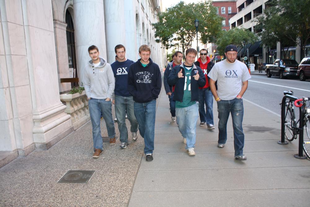 L to R: Sebastian Reigber, Nate Wysocki, Eric Cushing, Ed Wallace, Jeremy Railing, Ben Walker, and Ed BenishFall 2011