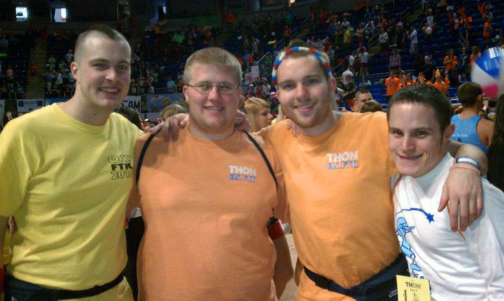 L to R: Nathaniel Wysocki, Dan Weinman, Daniel Cartwright,  Jasen MarshallThon 2011