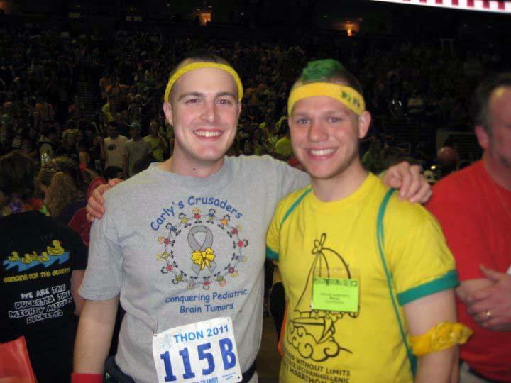 Nathaniel Wysocki (L) and Greg SmithThon 2011