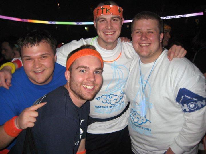 L to R: Mike Garman, Daniel Cartwright, Nathaniel Wysocki, Dan WeinmanThon 2011