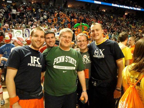 L to R: Daniel Cartwright, Jim Barrett, Dan Weinman, James Patterson, Nathaniel WysockiThon 2011