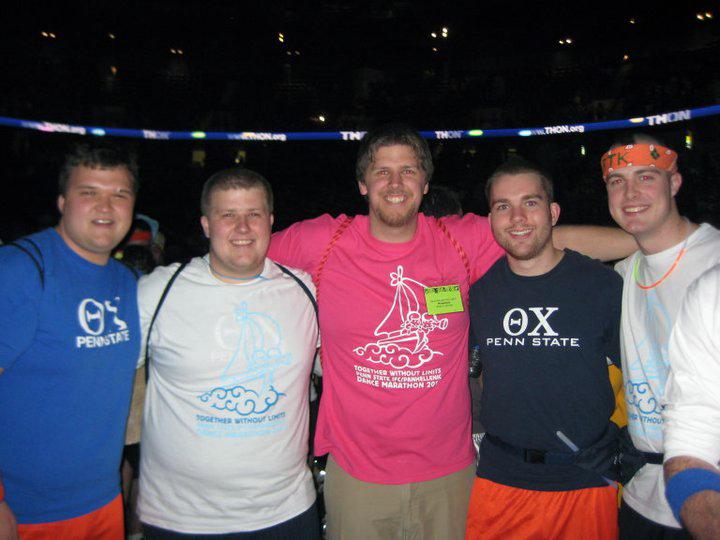 L to R: Mike Garman, Dan Weinman, Sean Haggerty, Daniel Cartwright, Nathaniel WysockiTHON 2011
