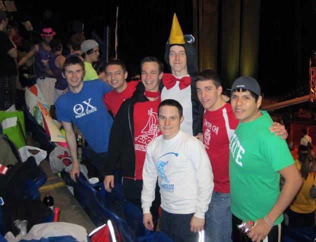 L to R: Alex Tessmer, Geoff Rolstone, Grant Gaston, Jasen Marshall, Bryan Powell, Matt Randazzo, Julio AlvaThon 2011
