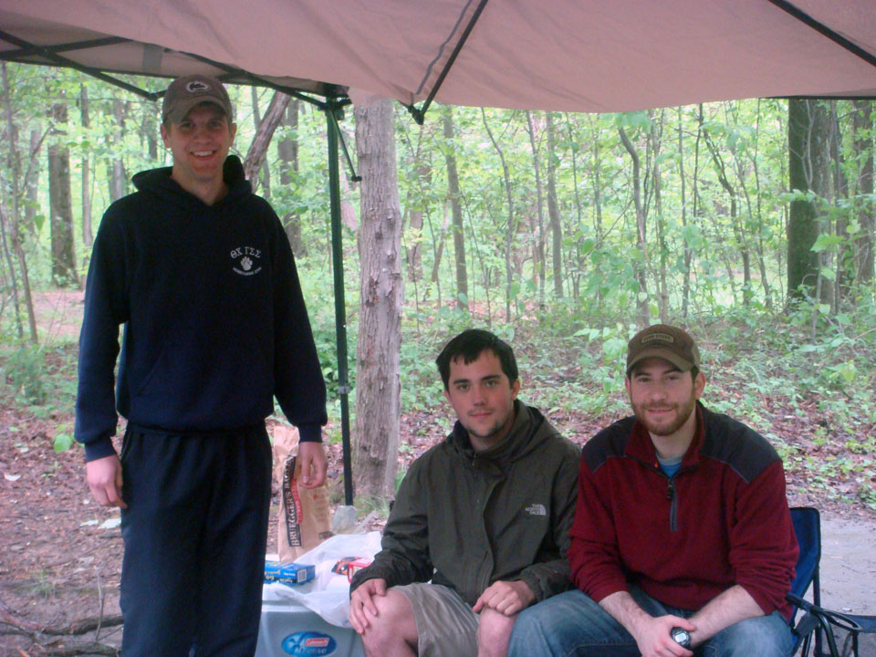L to R: David Hartwich, Nick Geyer, and Rob Blumstein