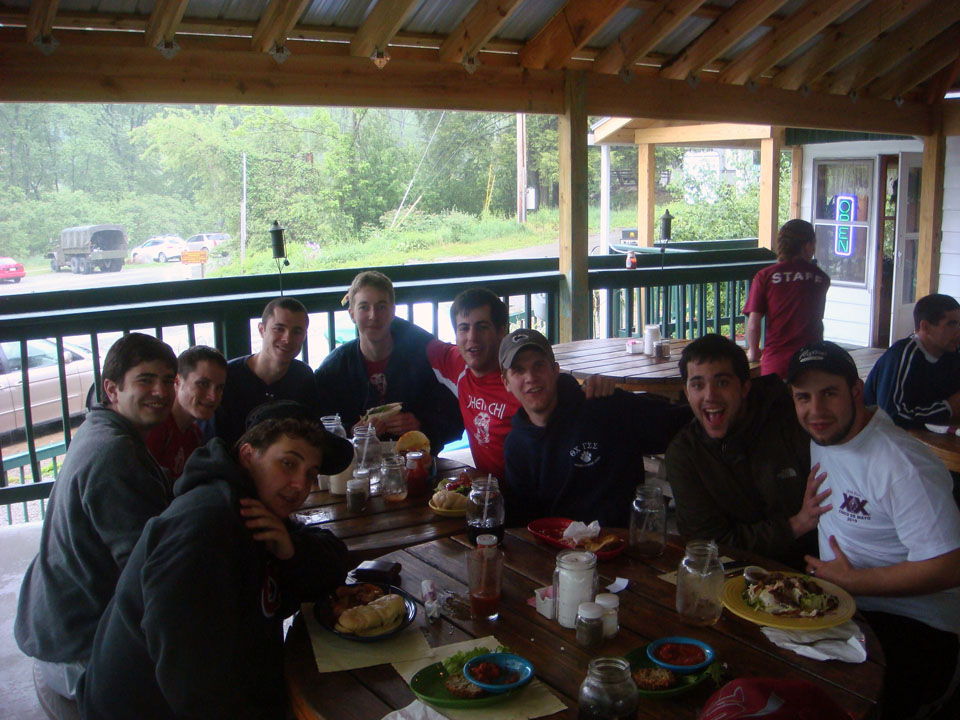 clockwise from front left - Tim Uhrich, James Nasralla, Jason Marshall, Dan Tseytlin, Brian Powell, Matthew Gendelman, Dave Hartwich, Nick Geyer, David Gendelman
