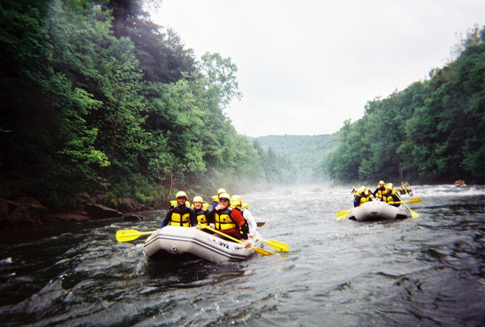 L to R: Rob Blumstein, Eric, Tim Uhrich