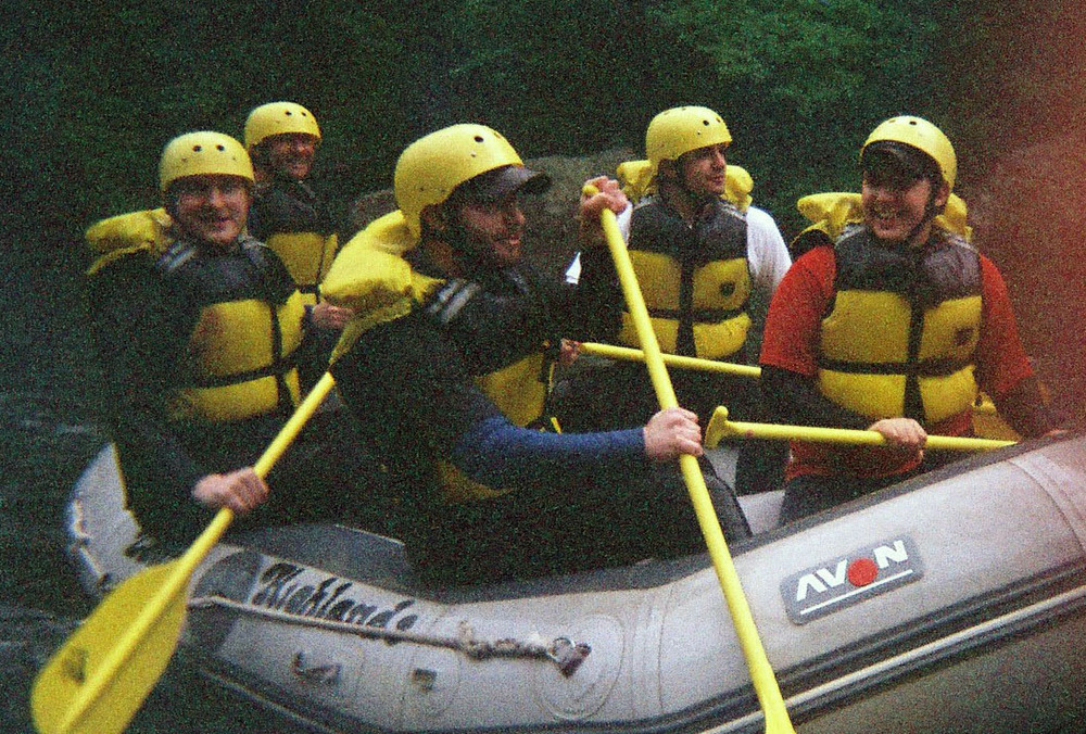 L to R: Eric, Adam Ruskin, Rob Blumstein, James Nasralla, Tim Uhrich