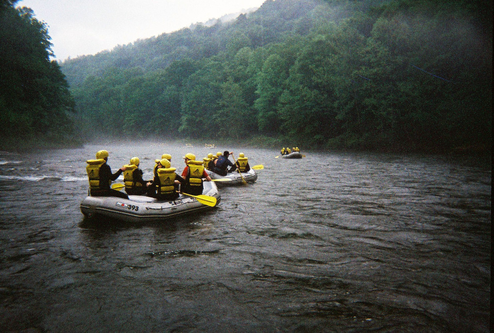 2010 White Water Rafting Trip