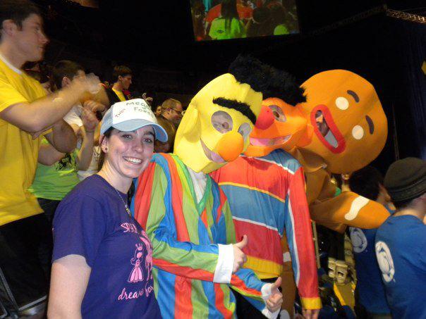 L to R: Gabrielle Patterson, Mitch Hulderman, Aaron Speagle and Liam Benjamin Fennecken2010 Dance Marathon