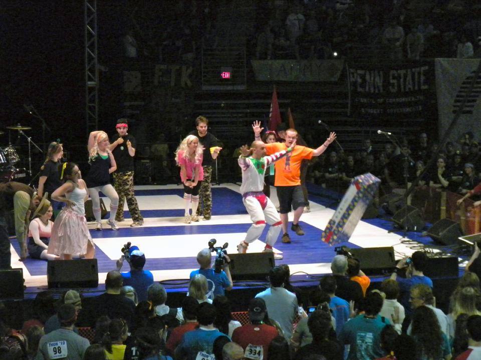 L to R:  Paul Weber, TK, Daniel Cartwright, Casey Leman and James Patterson2010 Dance Marathon