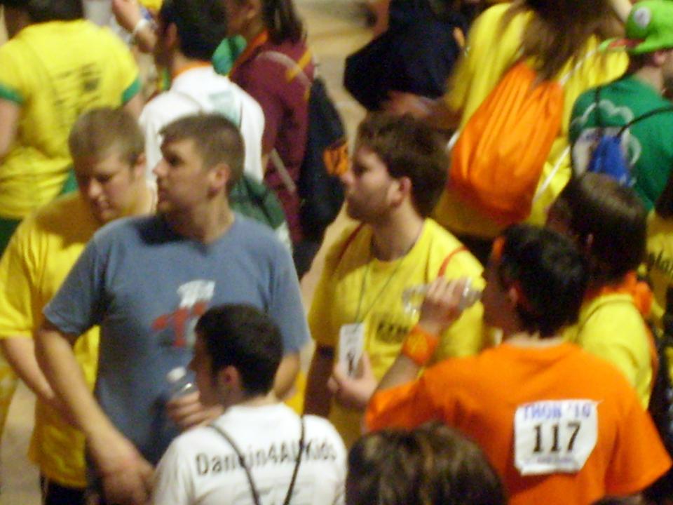 L to R: Dan Weinman, Sean Haggerty, Jasen Marshall, Daniel Cartwright and Nick Geyer2010 Dance Marathon