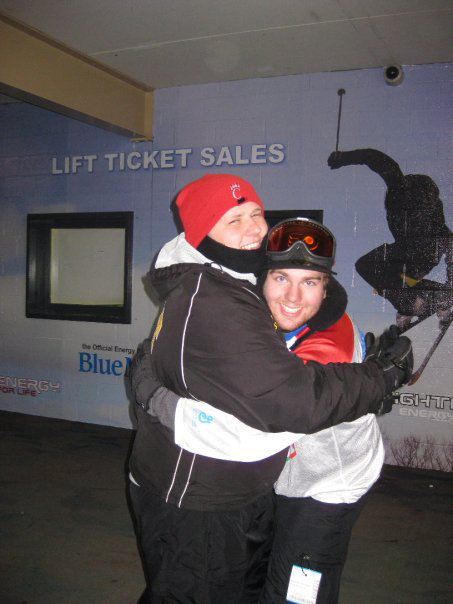 Dan Weinman (L) and Daniel Cartwright3rd Annual Theta Chi Ski Trip