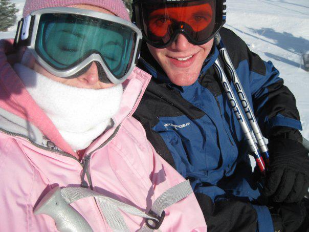 Devin Dehnert and David Hartwich3rd Annual Theta Chi Ski Trip