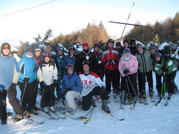 3rd Annual Theta Chi Ski Trip