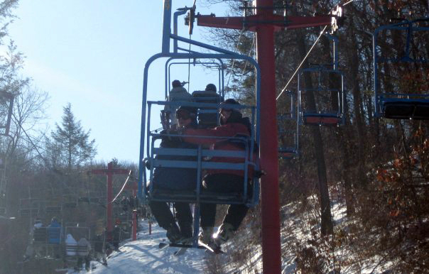 David Hartwich and Jared Metzger3rd Annual Theta Chi Ski Trip