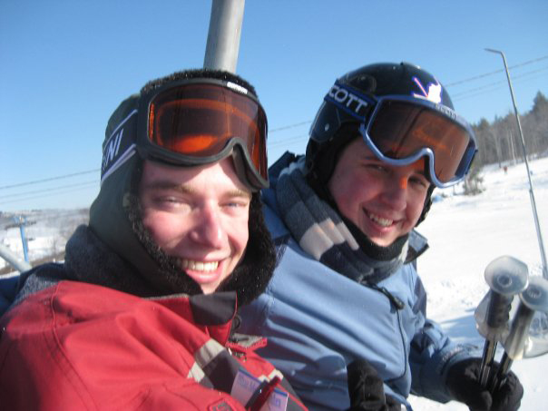 Jared Metzger (L) and Timothy Uhrich