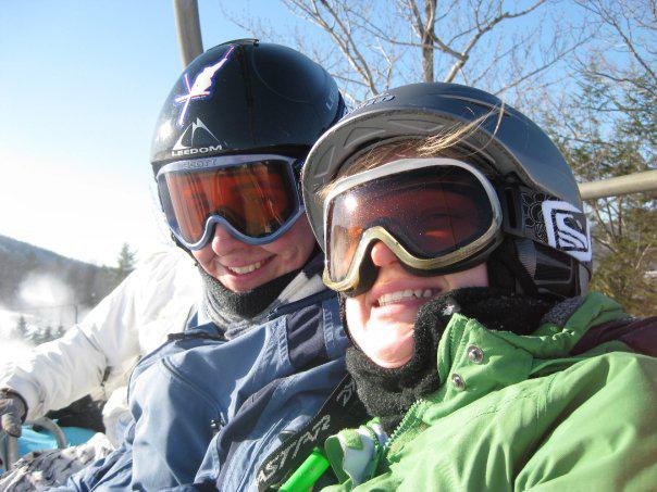 Timothy Uhrich and Megan Duffy3rd Annual Theta Chi Ski Trip