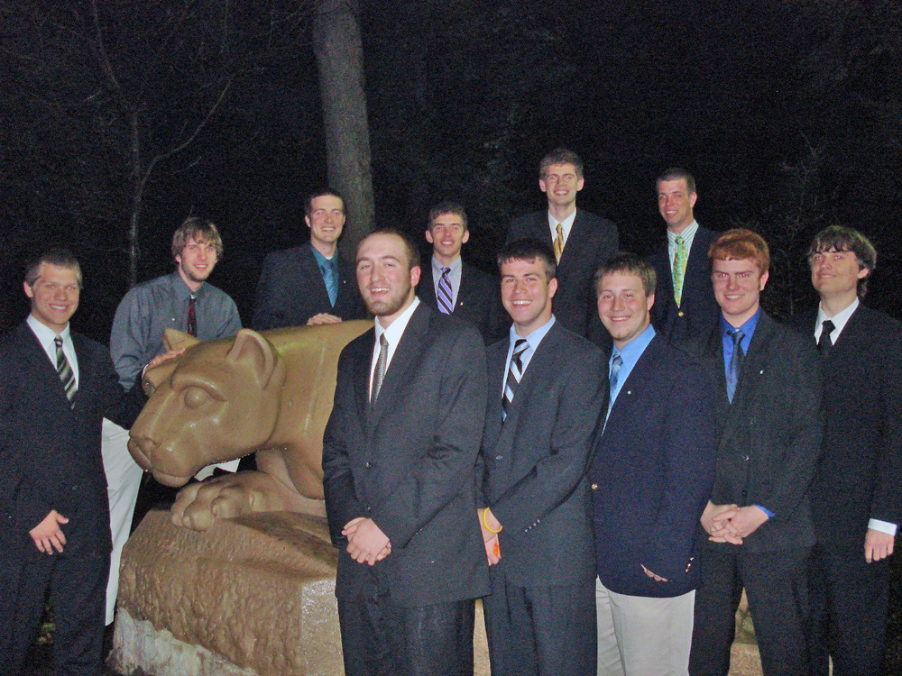 Spring 2009 Initiation