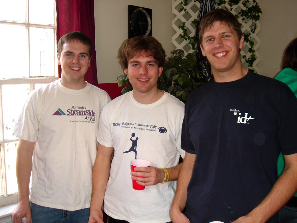 L to R: Jason Clark, Daniel Cartwright and Sean Haggerty