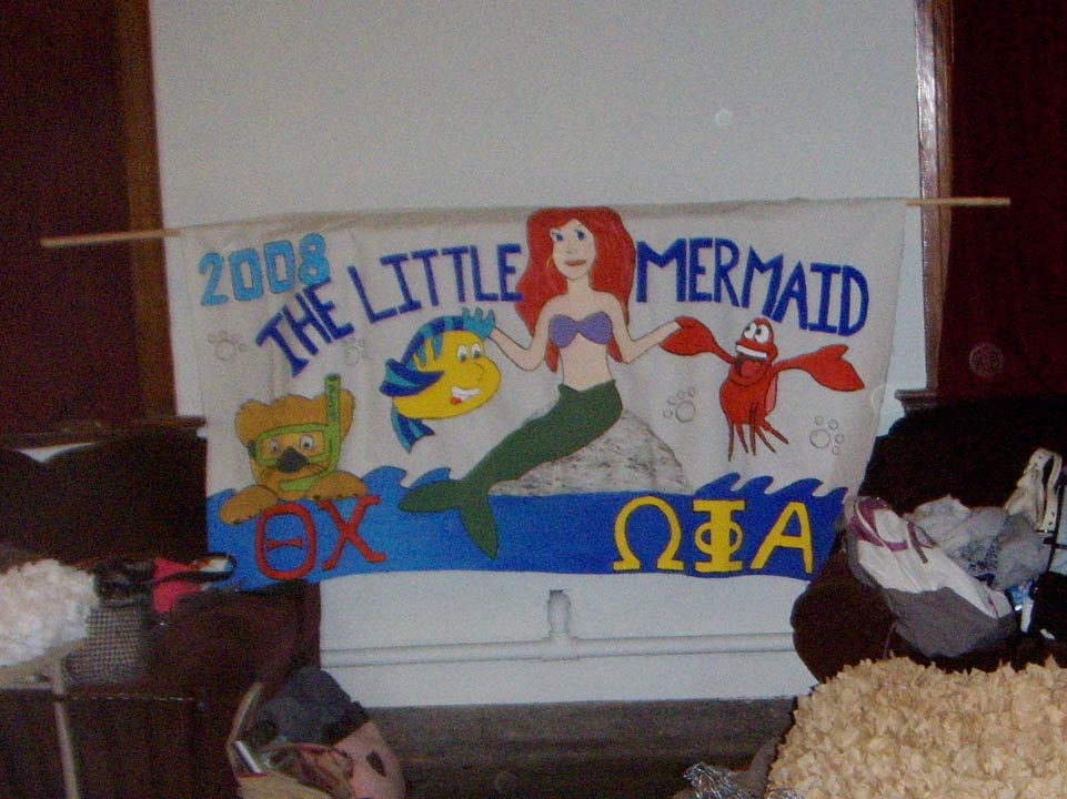 2008 Homecoming banner