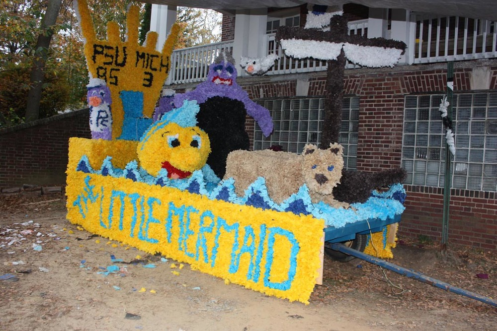 Float2008 Homecoming with Omega Phi Alpha