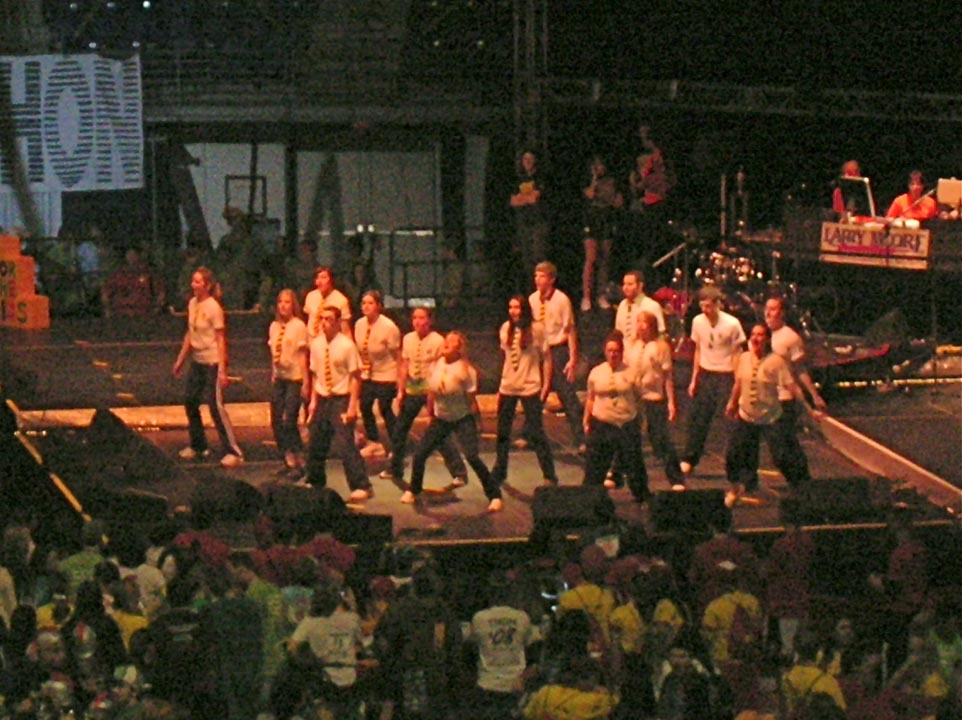 Airband performance at THON 08 with Gamma Sigma Sigma