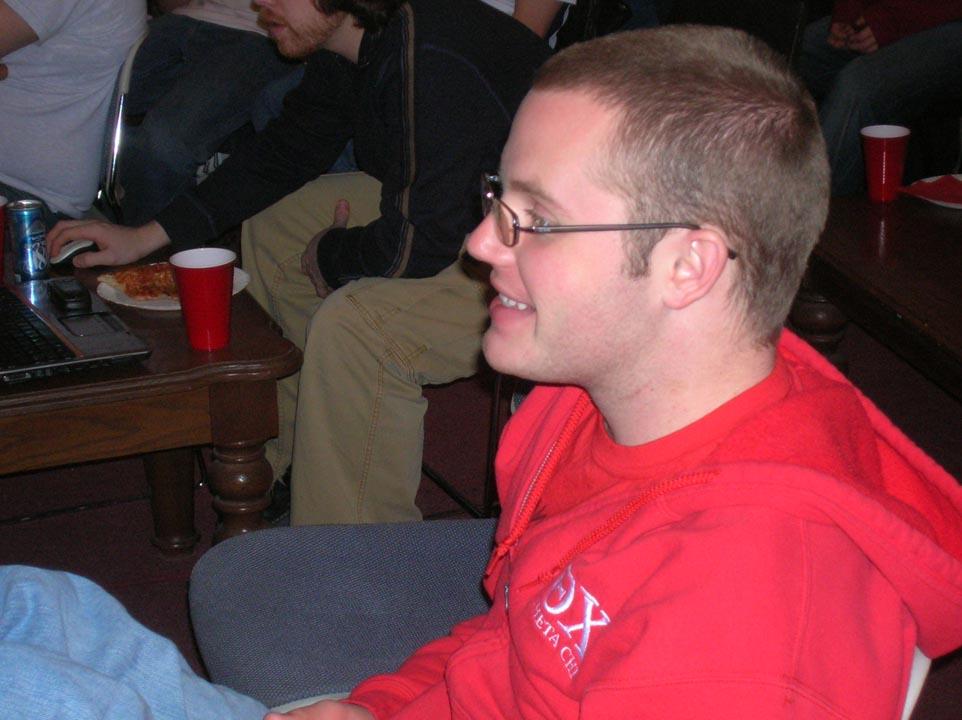 James PattersonSuper Bowl party