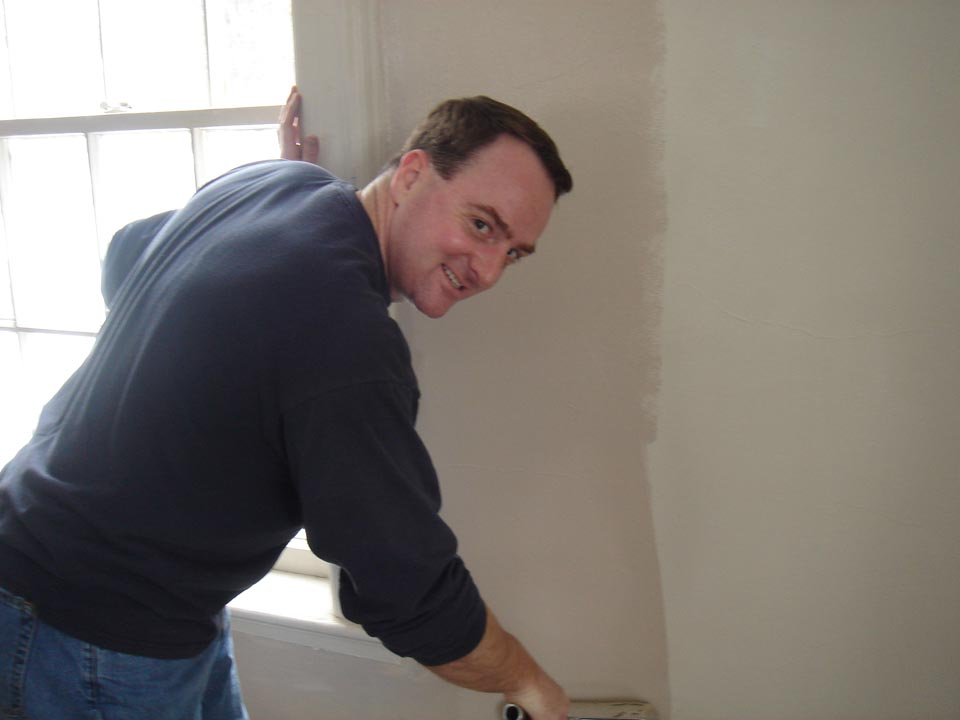 Andy Dolanat Alumni Work Weekend