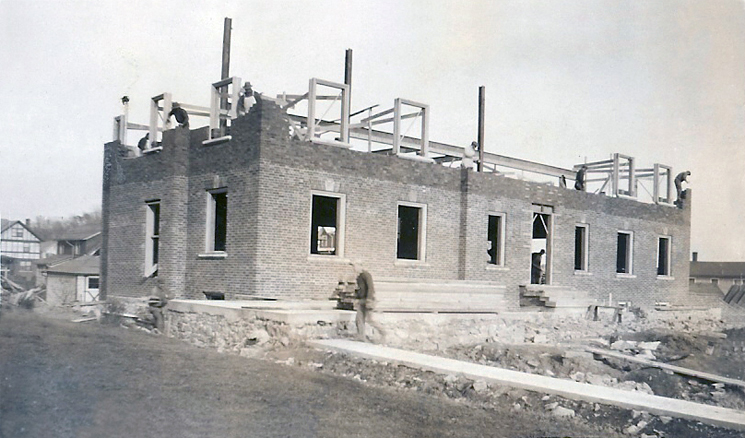 523 South Allen - ConstructionLeft side/front view of houseNov. 6, 1929
