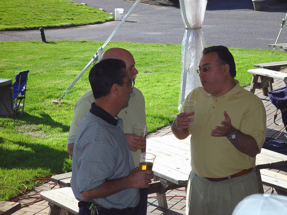 L to R: TK, TK and Alan Vladimir