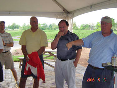 L to R: TK, Robert Mooney '78 and TK