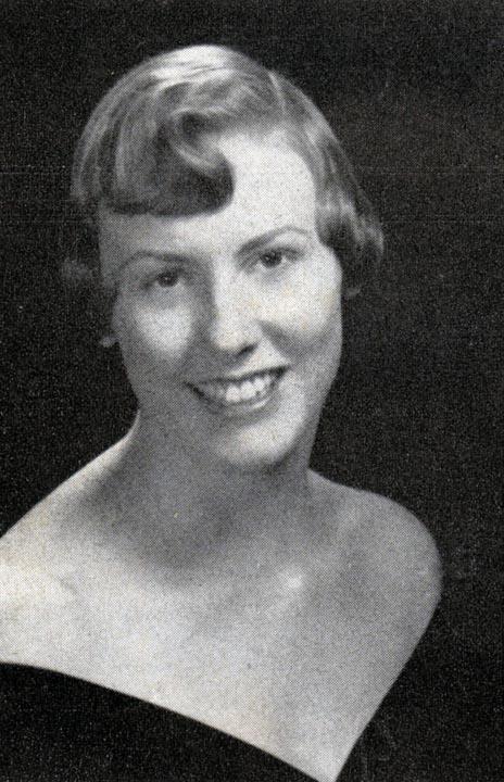 Bonnie Baldwin - Dream Girl of Theta Chi1958