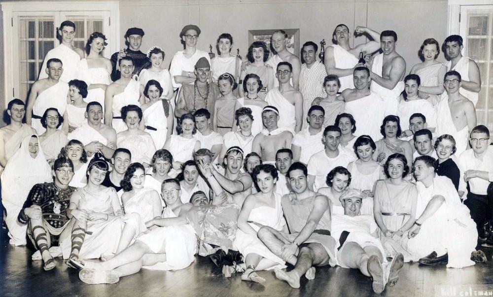 Toga Partyphoto courtesy of John Lichliter '56