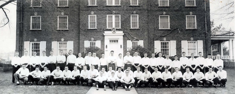 Brotherhood - 1956photo courtesy of John Lichliter '56