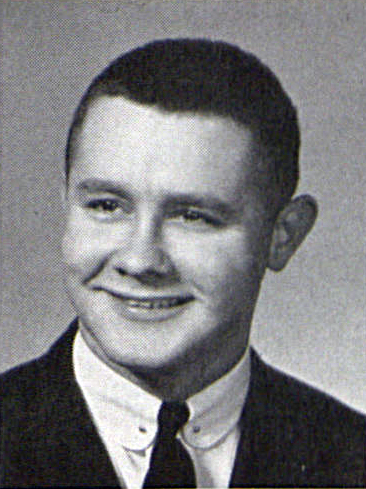 Alfred P. Klimcke's 1957 Graduation Photo