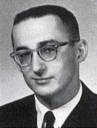 Bob Jones' 1958 Graduation Photoas in LaVie Yearbook