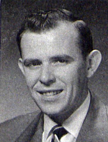 Richard E. Fronko '54LaVie Graduation Photo