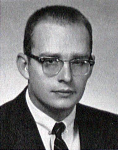 Ronald Hansen's 1956 Graduation Photoas in LaVie Yearbook