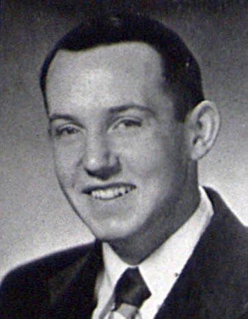 Kay B. Huston '54LaVie Graduation Photo